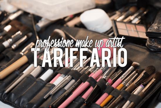 Tariffario make up artist