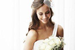 Acconciatura Semiraccolta con Trucco Sposa Naturale