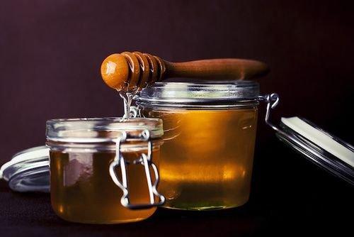 maschera capelli miele