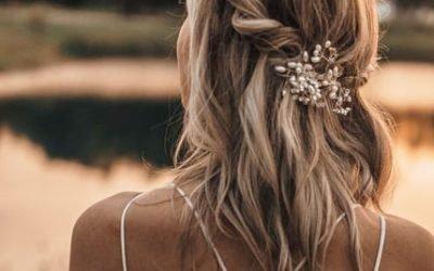 Semiraccolto per la sposa, scegli tra le varie acconciature semiraccolte
